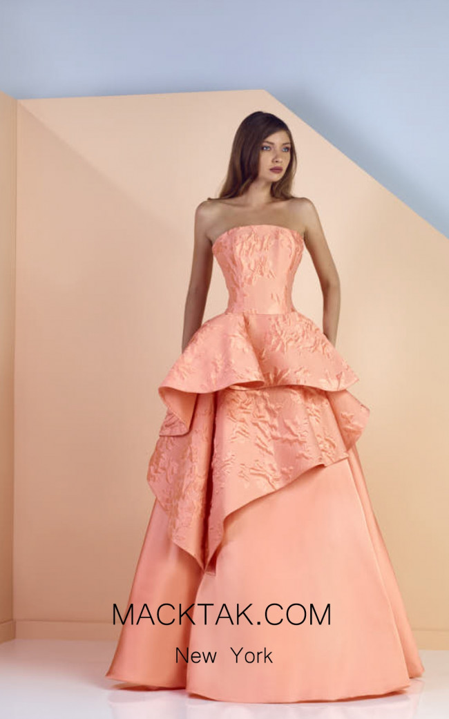 Edward Arsouni SS0133 Front Evening Dress