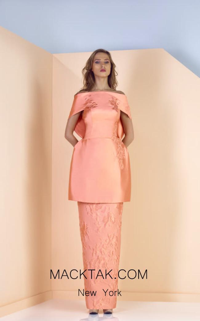 Edward Arsouni SS0134 Front Evening Dress