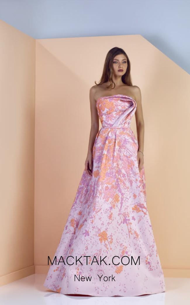 Edward Arsouni SS0135 Front Evening Dress