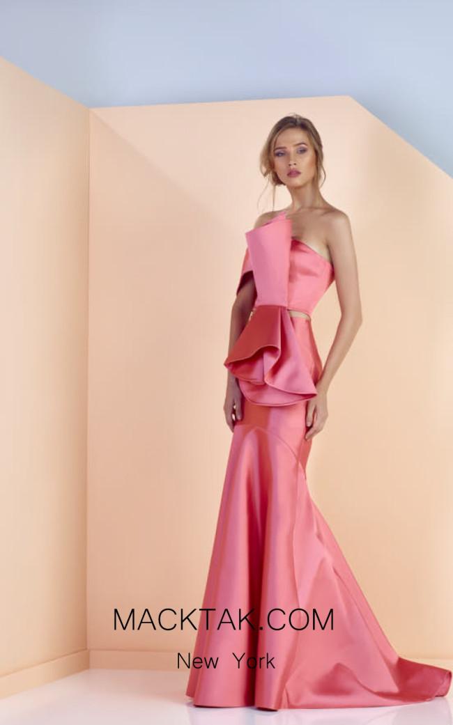 Edward Arsouni SS0138 Front Evening Dress