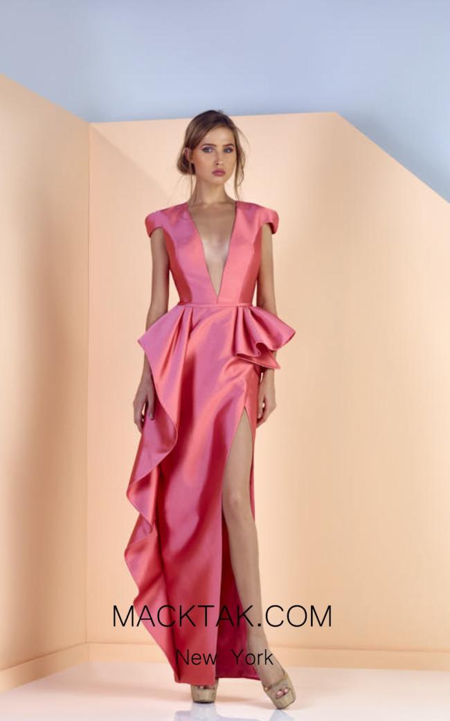 Edward Arsouni SS0140 Front Evening Dress