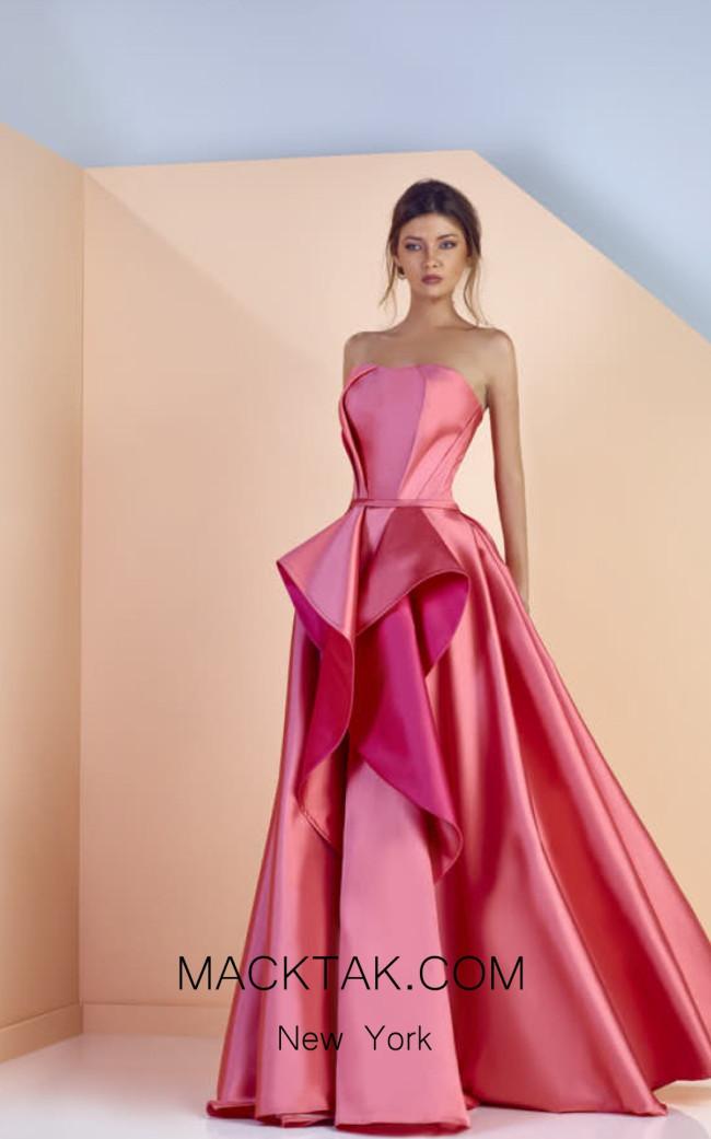 Edward Arsouni SS0141 Front Evening Dress