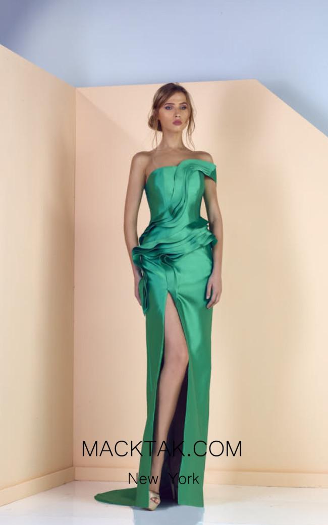 Edward Arsouni SS0147 Front Evening Dress