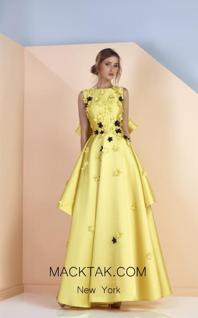 Edward Arsouni SS0153 Front Evening Dress