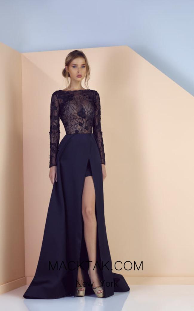 Edward Arsouni SS0157 Front Evening Dress