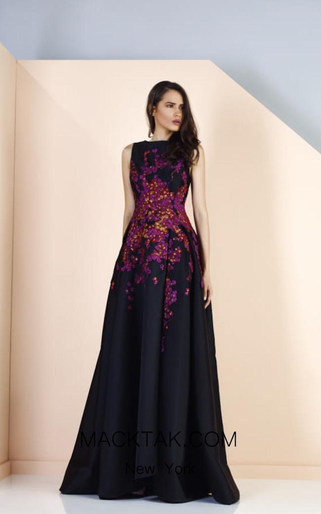 Edward Arsouni SS0163 Front Evening Dress