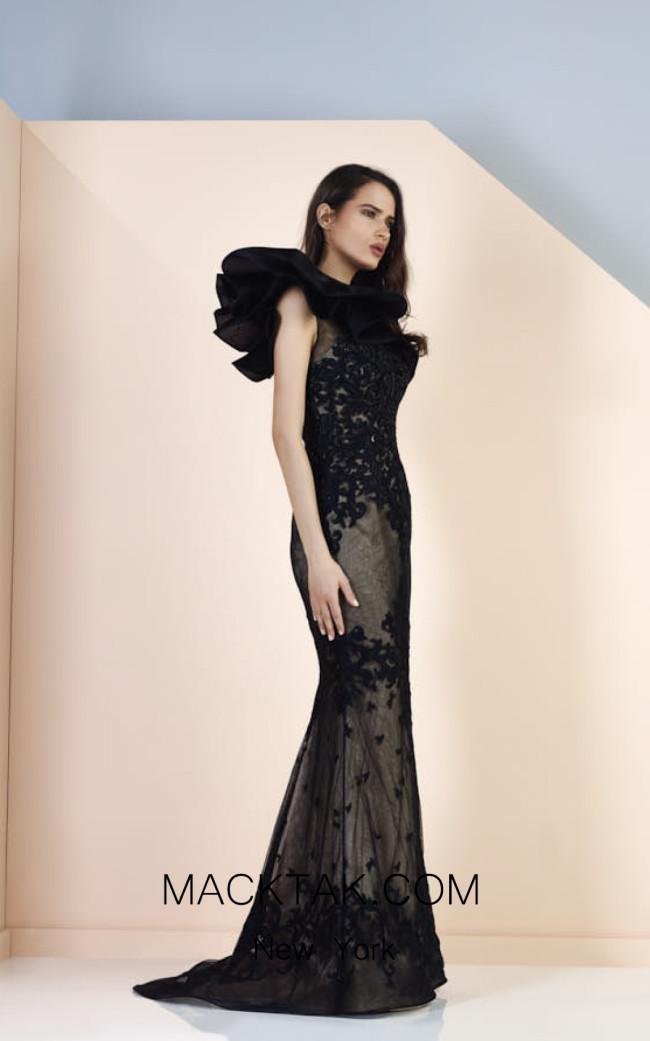 Edward Arsouni SS0164 Front Evening Dress