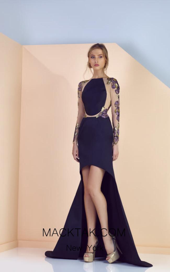Edward Arsouni SS0165 Front Evening Dress