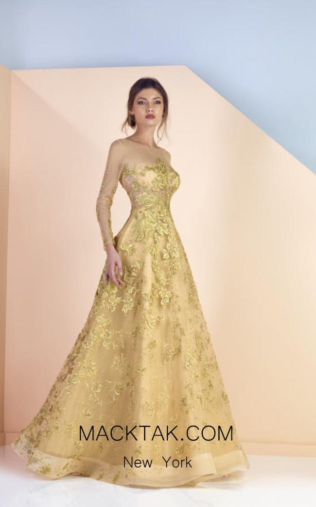 Edward Arsouni SS0168 Front Evening Dress