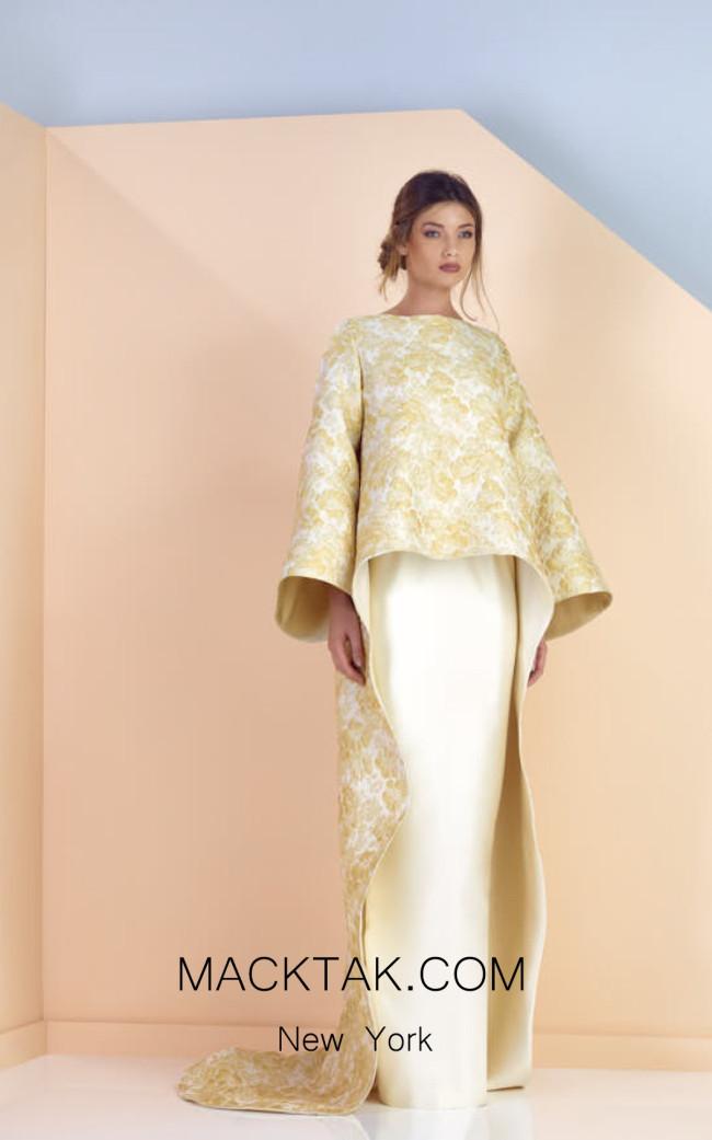 Edward Arsouni SS0170 Front Evening Dress