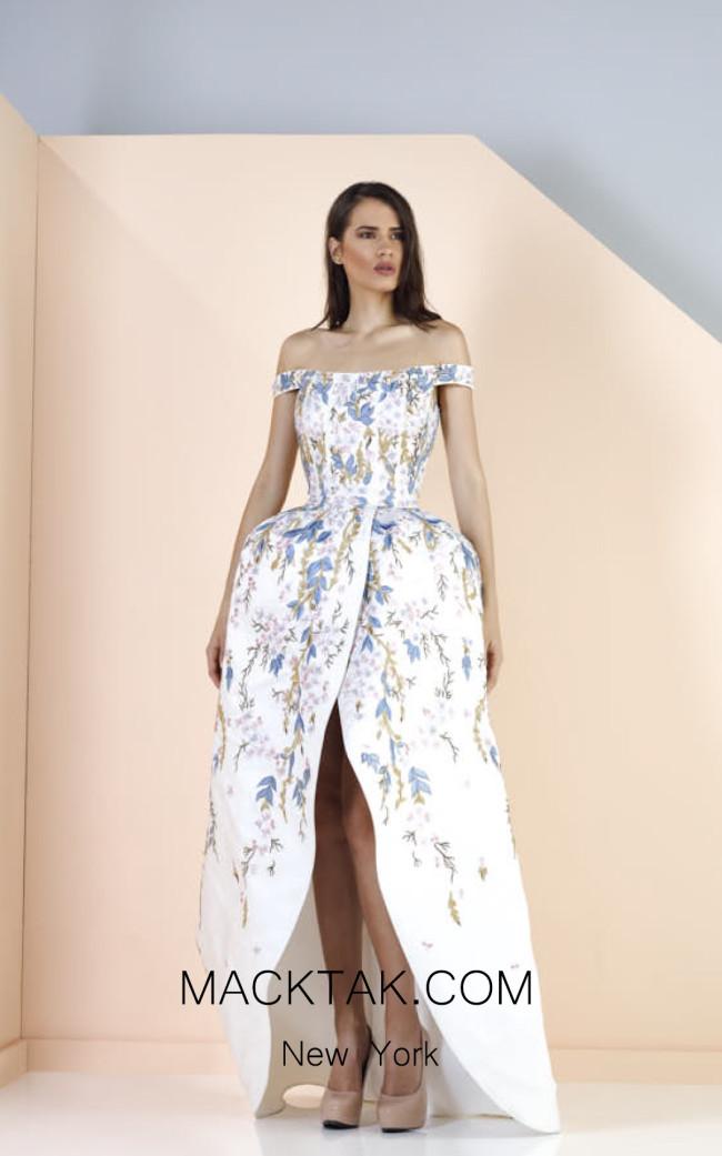 Edward Arsouni SS0172 Front Evening Dress
