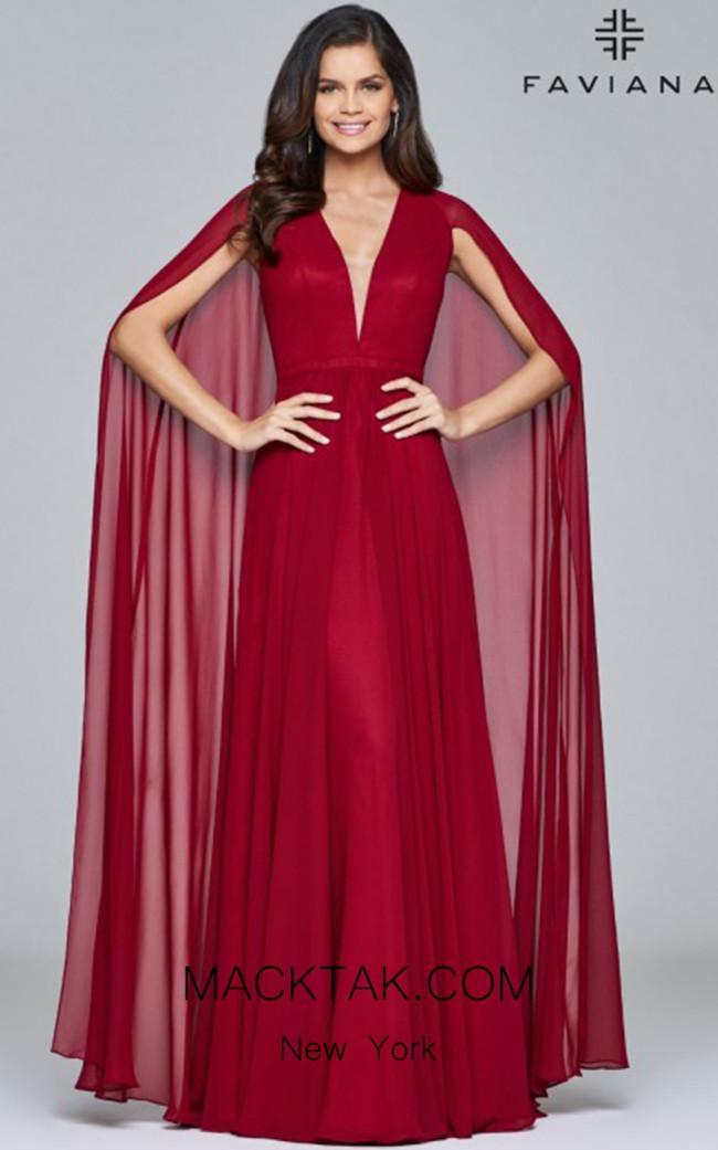 Faviana S8087 Front Dress