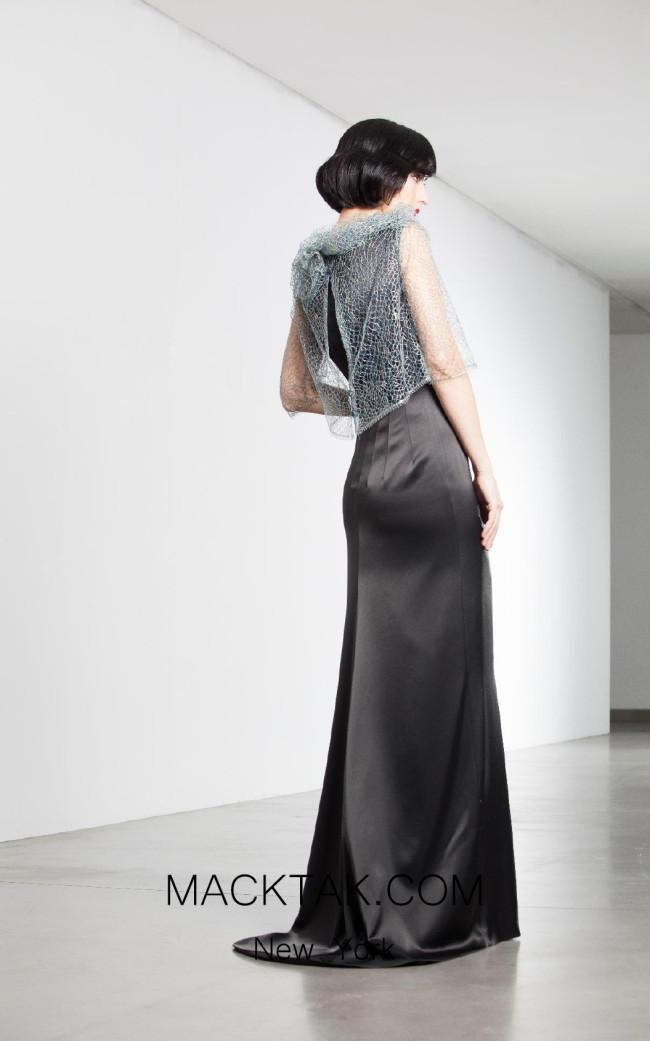 Fely Campo 14214 Back Dress