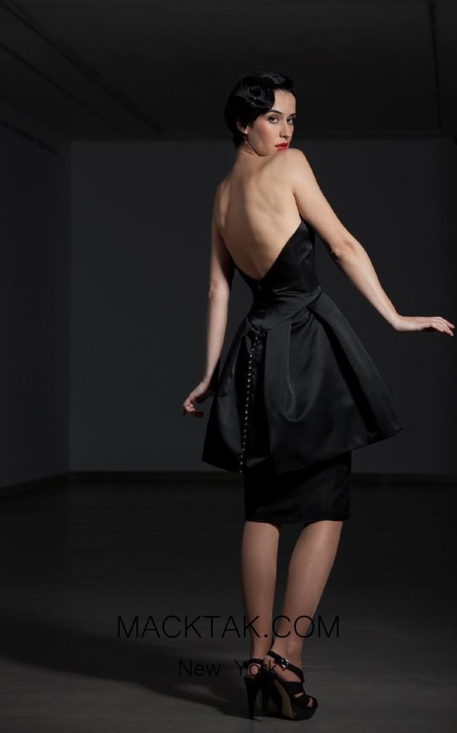 Fely Campo 14322 Back Dress