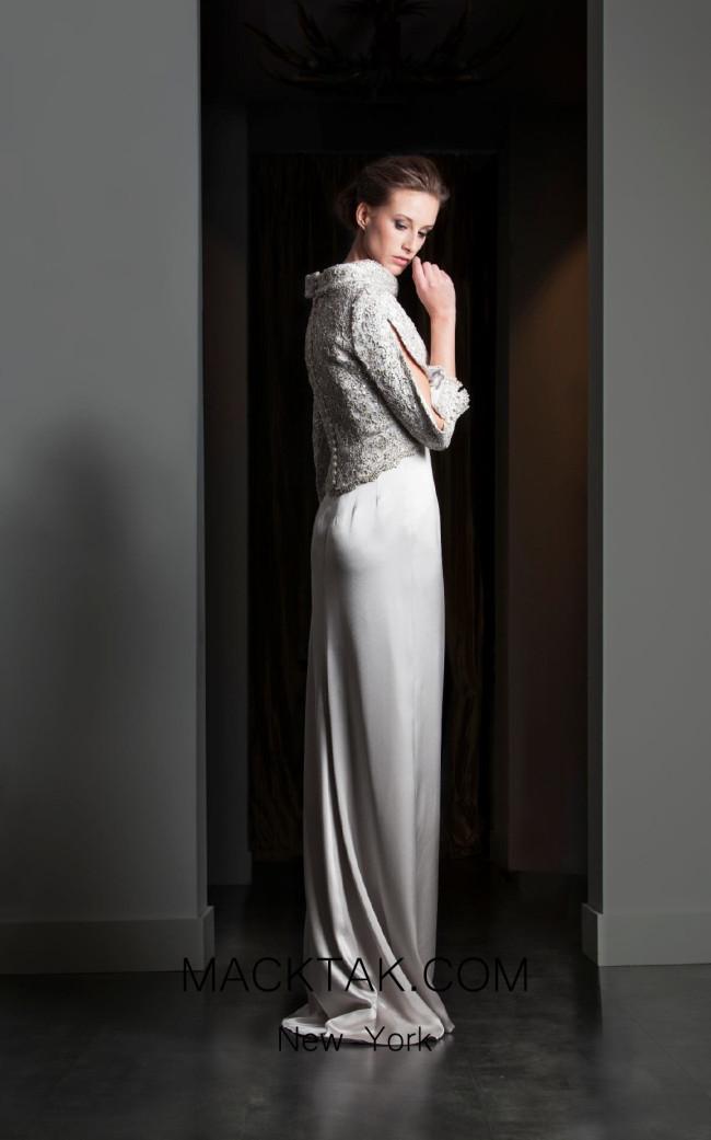 Fely Campo 15311 Back Dress
