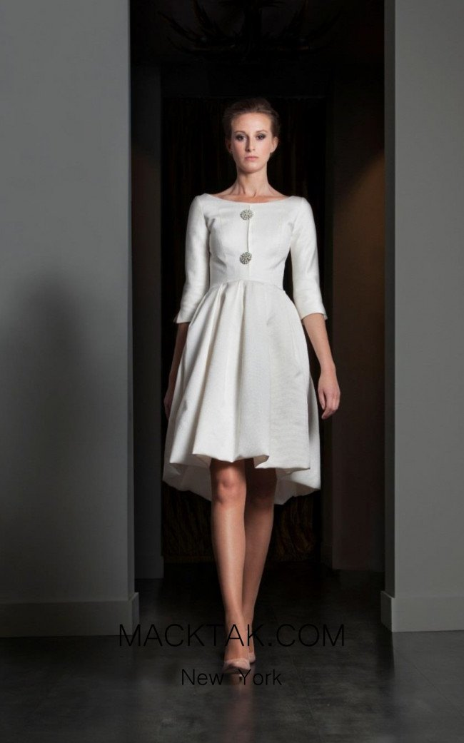 Fely Campo 15312 Front Dress