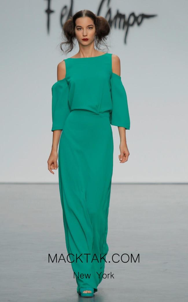 Fely Campo 18118 Dress