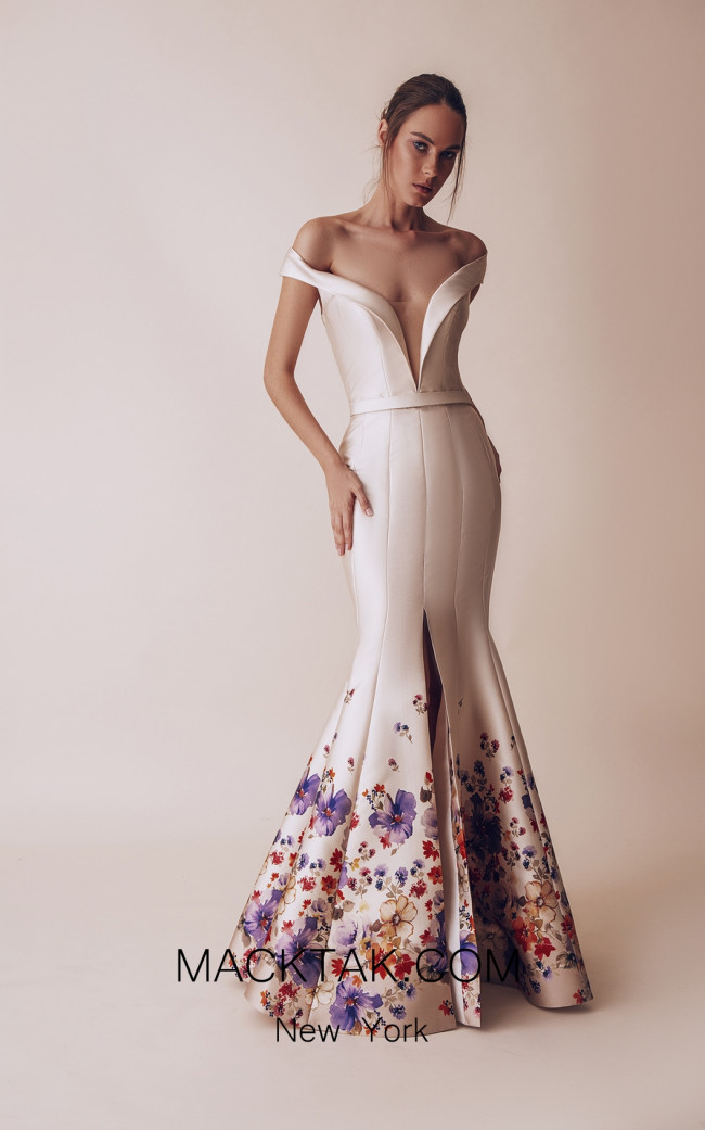 Gatti Nolli 4911 Optimum Design Front Evening Dress