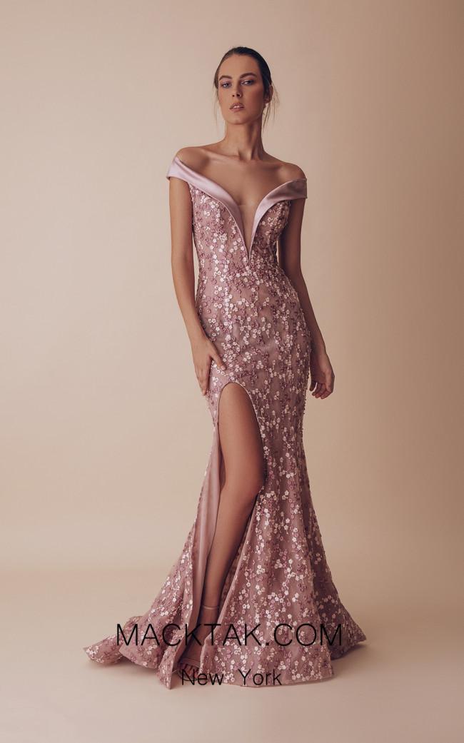 Gatti Nolli 4946 Optimum Design Front Evening Dress