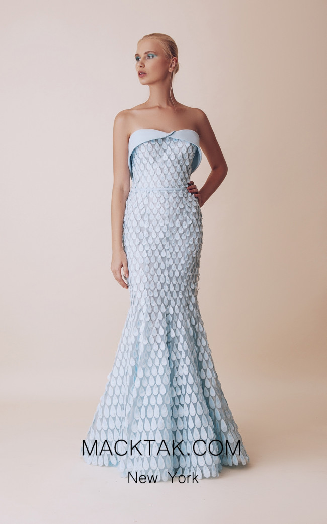 Gatti Nolli 4954 Optimum Design Front Evening Dress