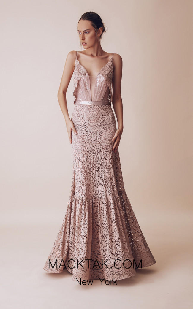 Gatti Nolli 4987 Optimum Design Front Evening Dress