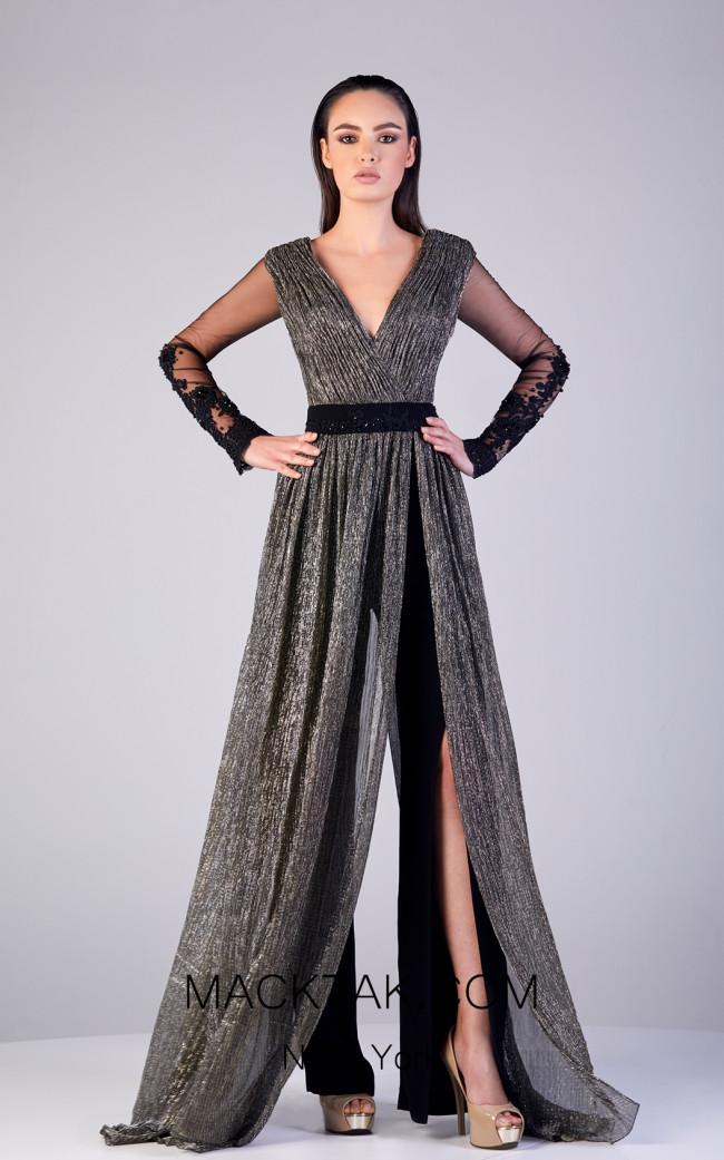 Gatti Nolli OP5175 Lavender Front Dress