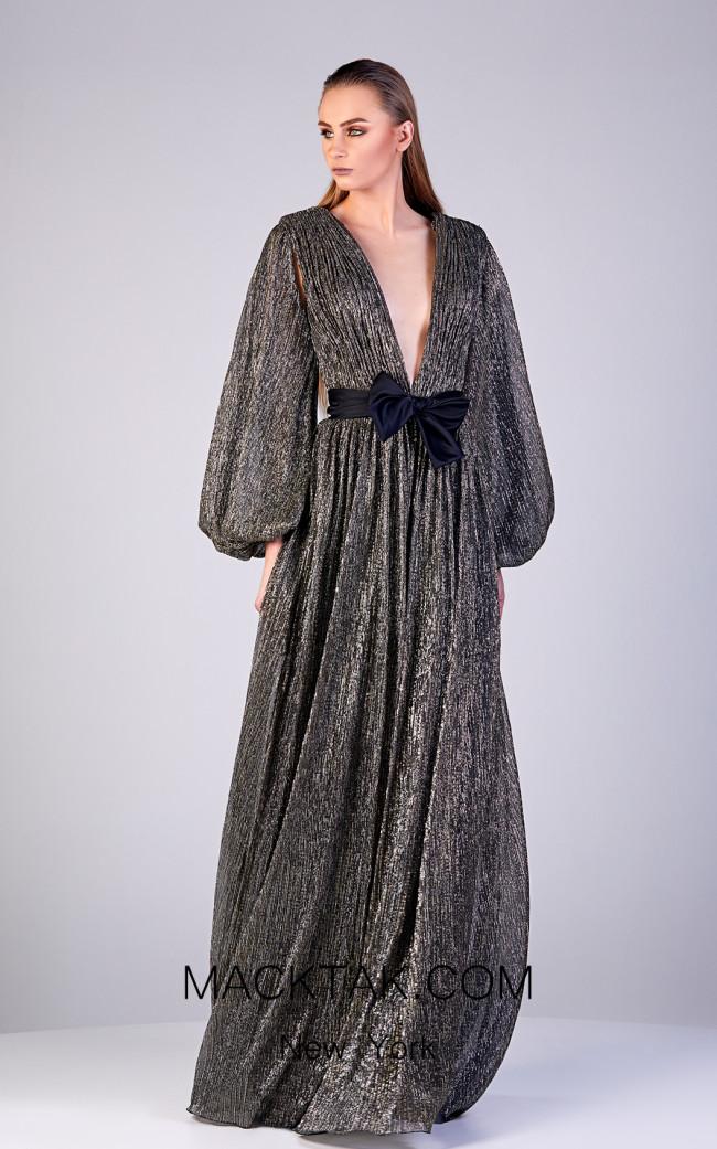 Gatti Nolli OP5194 Viola Front Dress