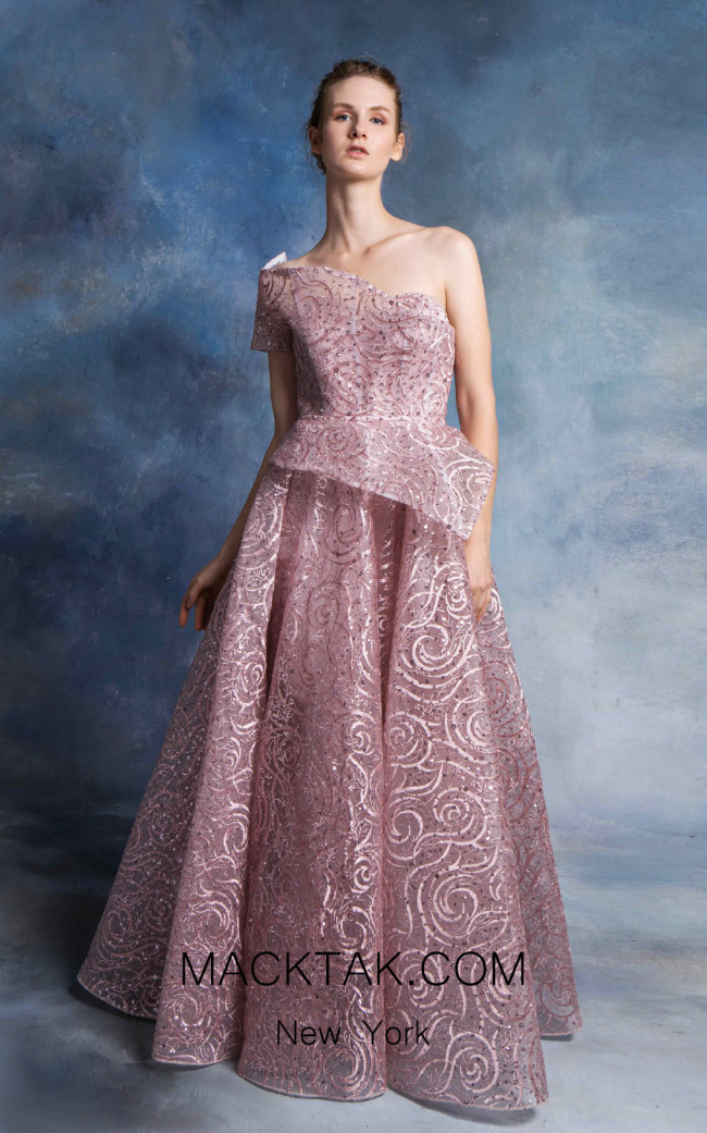In Couture By Kiwi 4754 Mauve Front Dress