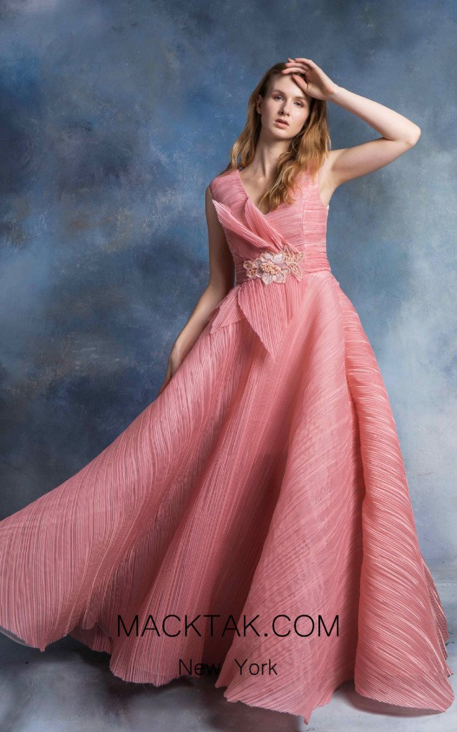 In Couture By Kiwi 4758 Pink Front Dress