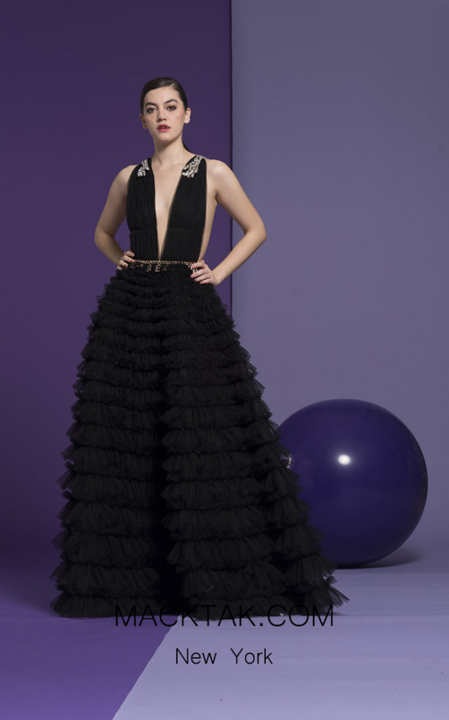 Isabel Sanchis Amber 18 Front Dress