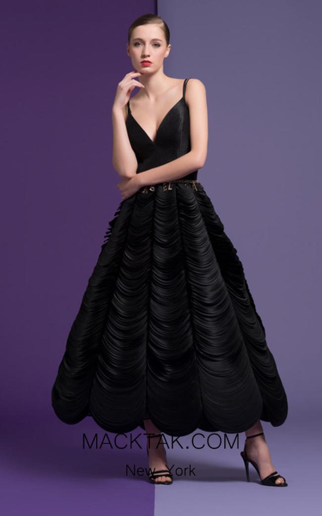 Isabel Sanchis Christiane 89 Front Dress