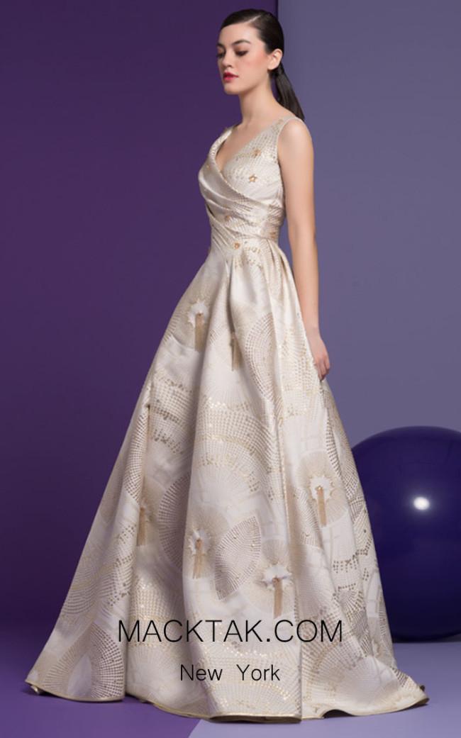 Isabel Sanchis Clarette 95 Front Dress