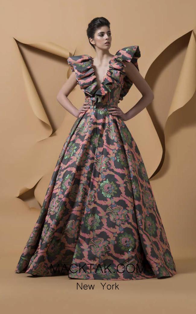 Isabel Sanchis Gamelotal Front Dress