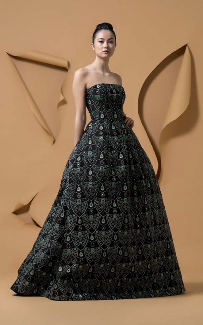 Isabel Sanchis Matica Front Dress