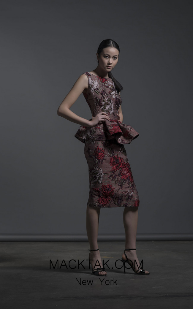 Isabel Sanchis Narbolia Front Dress