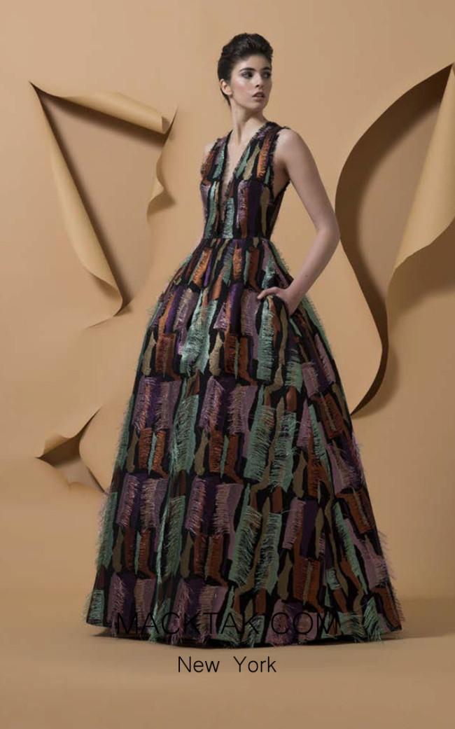Isabel Sanchis Patanemo Front Dress