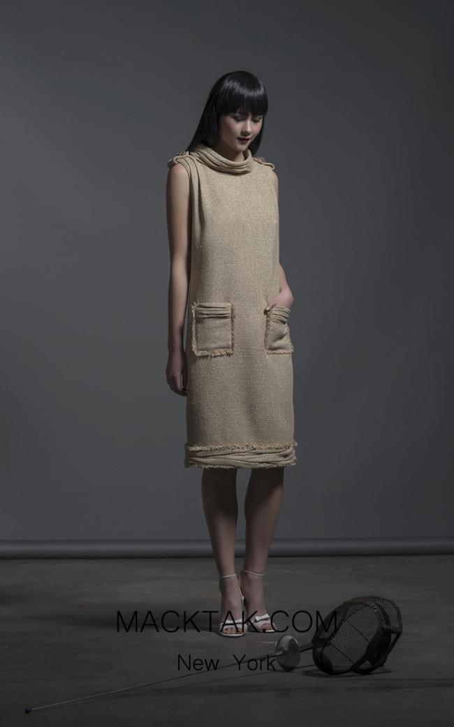 Isabel Sanchis Ragusa Front Dress