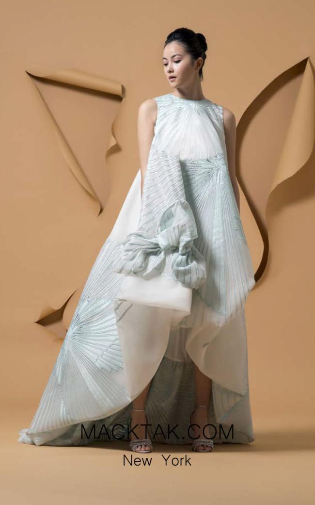 Isabel Sanchis Tacuato Front Dress