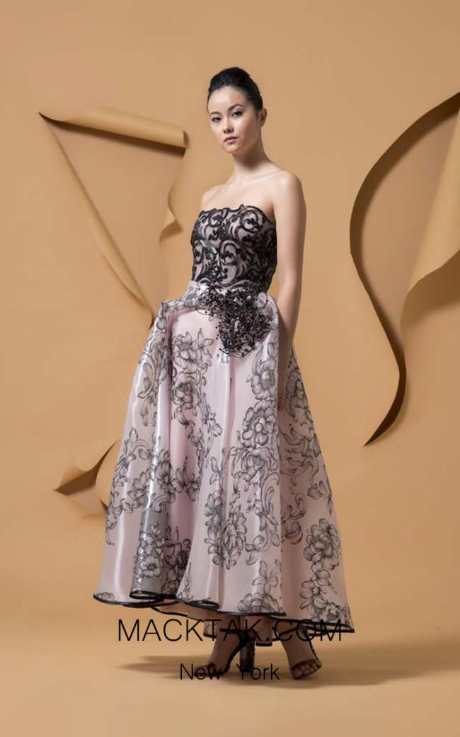 Isabel Sanchis Tapa Front Dress