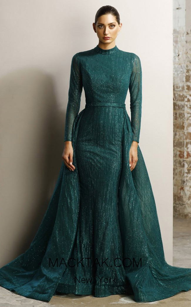 Jadore JX1117 Emerald Dress