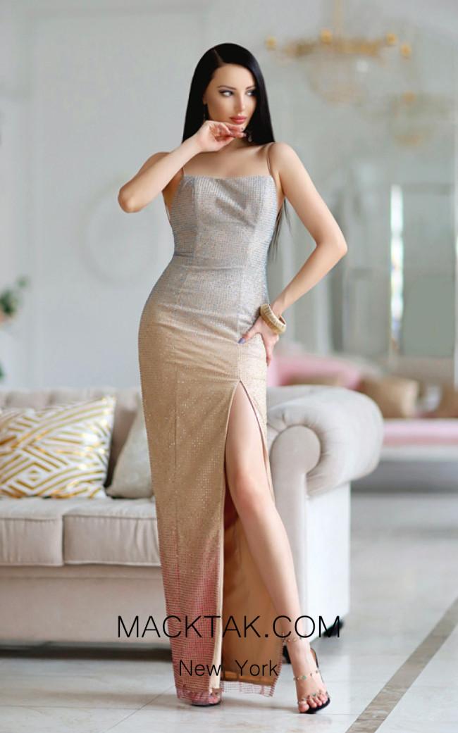 Jadore Australia JP105 Multi Front Dress