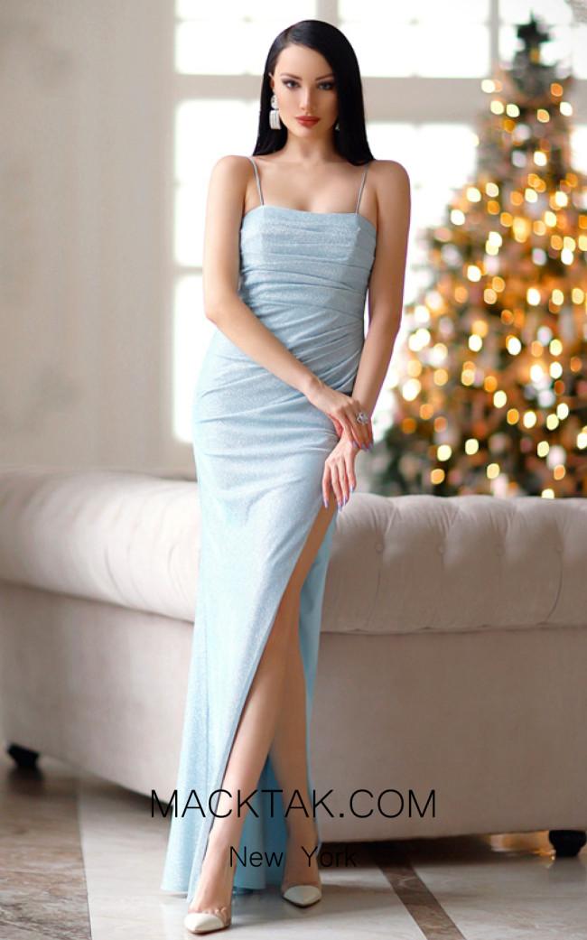 Jadore Australia JP112 Baby Blue Front Dress