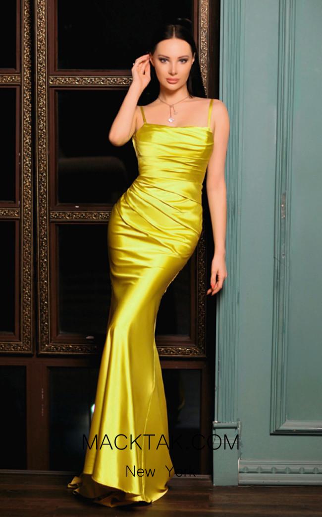 Jadore Australia JP116 Aqua Front Dress