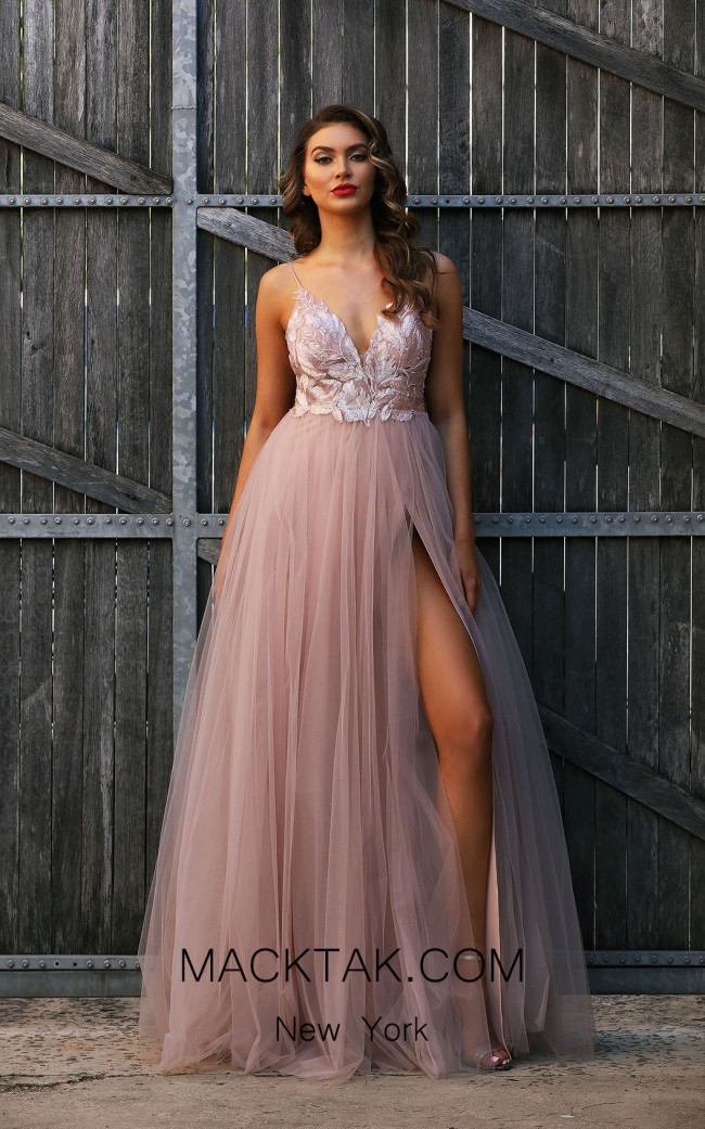 Jadore JX3004 Pink Front Dress