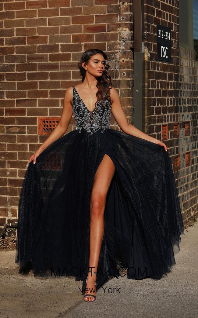 Jadore JX3011 Lilac Front Dress