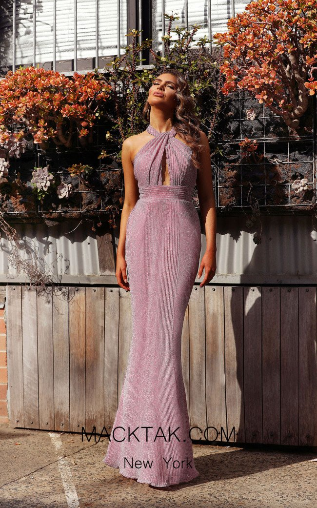 Jadore JX3014 Pink Front Dress
