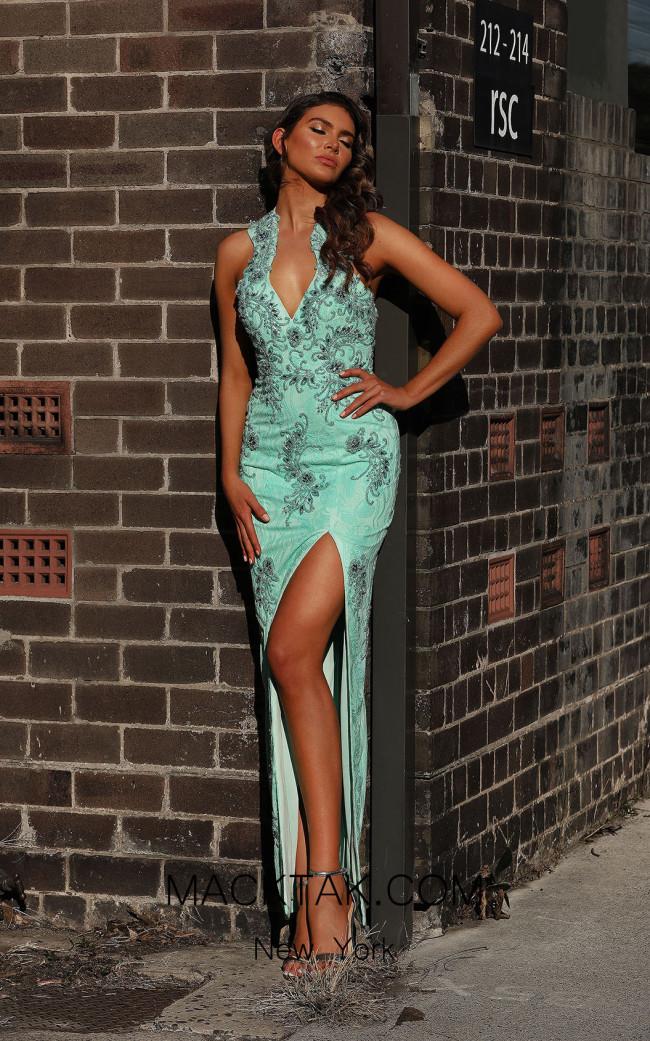 Jadore JX3019 Mint Front Dress