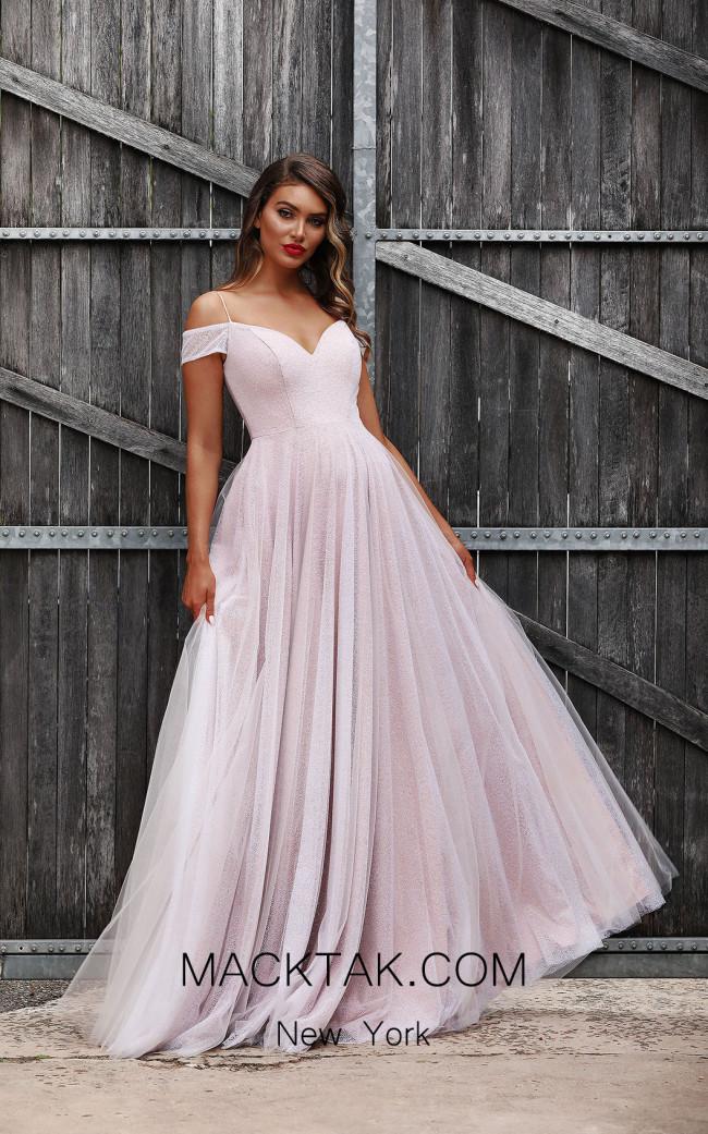 Jadore JX3029 White Front Dress
