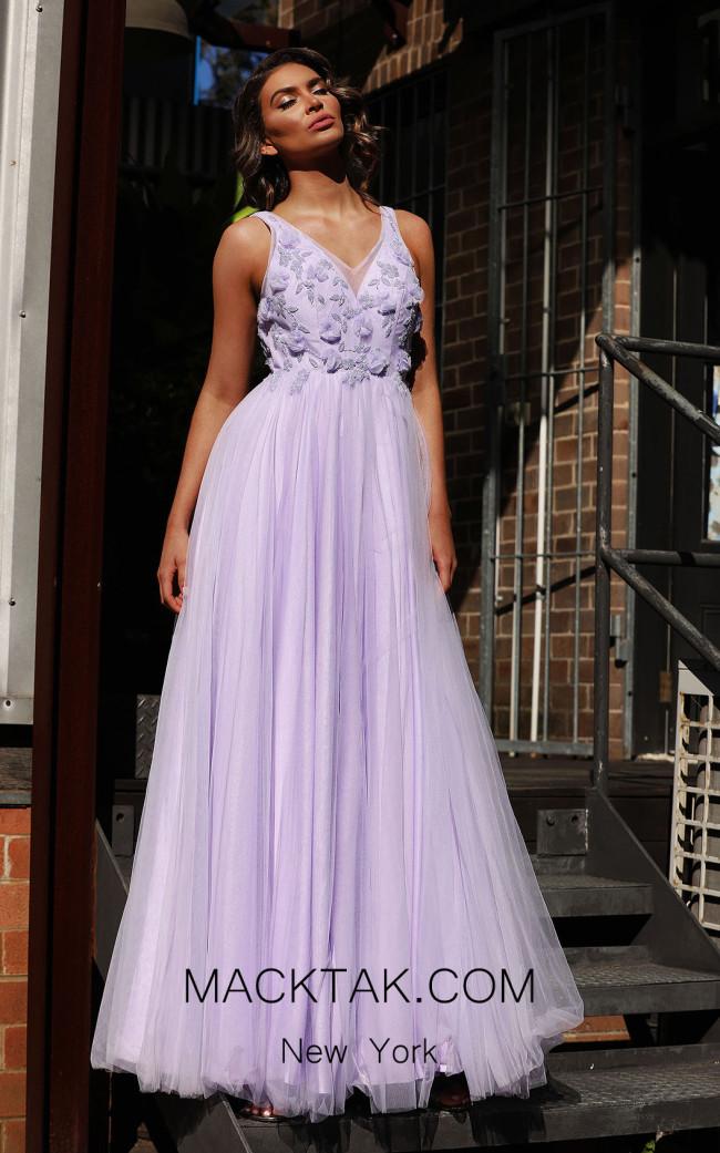 Jadore JX3030 Lilac Front Dress