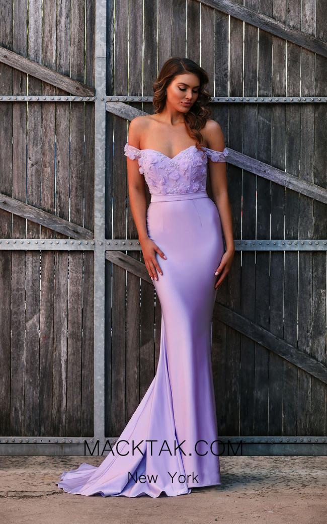 Jadore JX3043 Lilac Front Dress